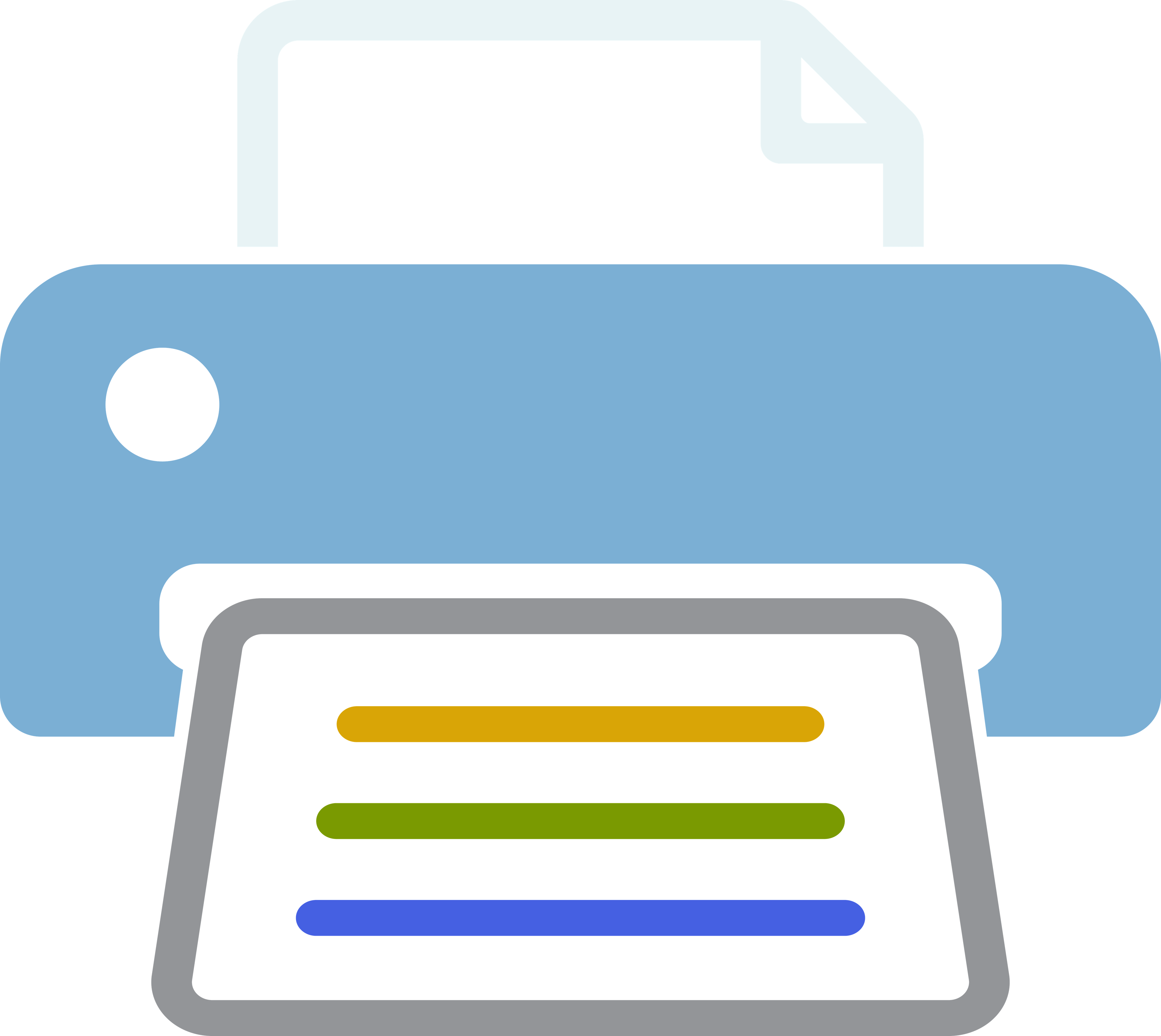 graphical icon of a printer