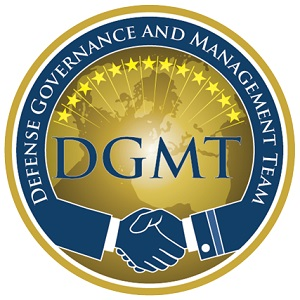 DGMT Logo of two hands shaking