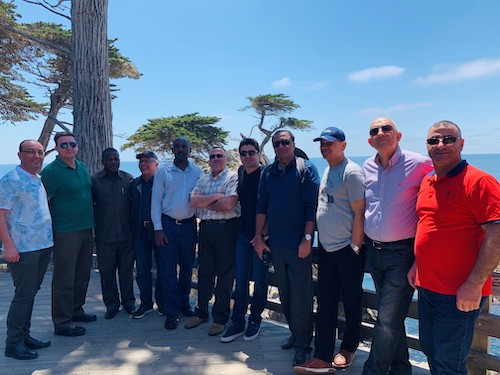 Class Photo in Monterey